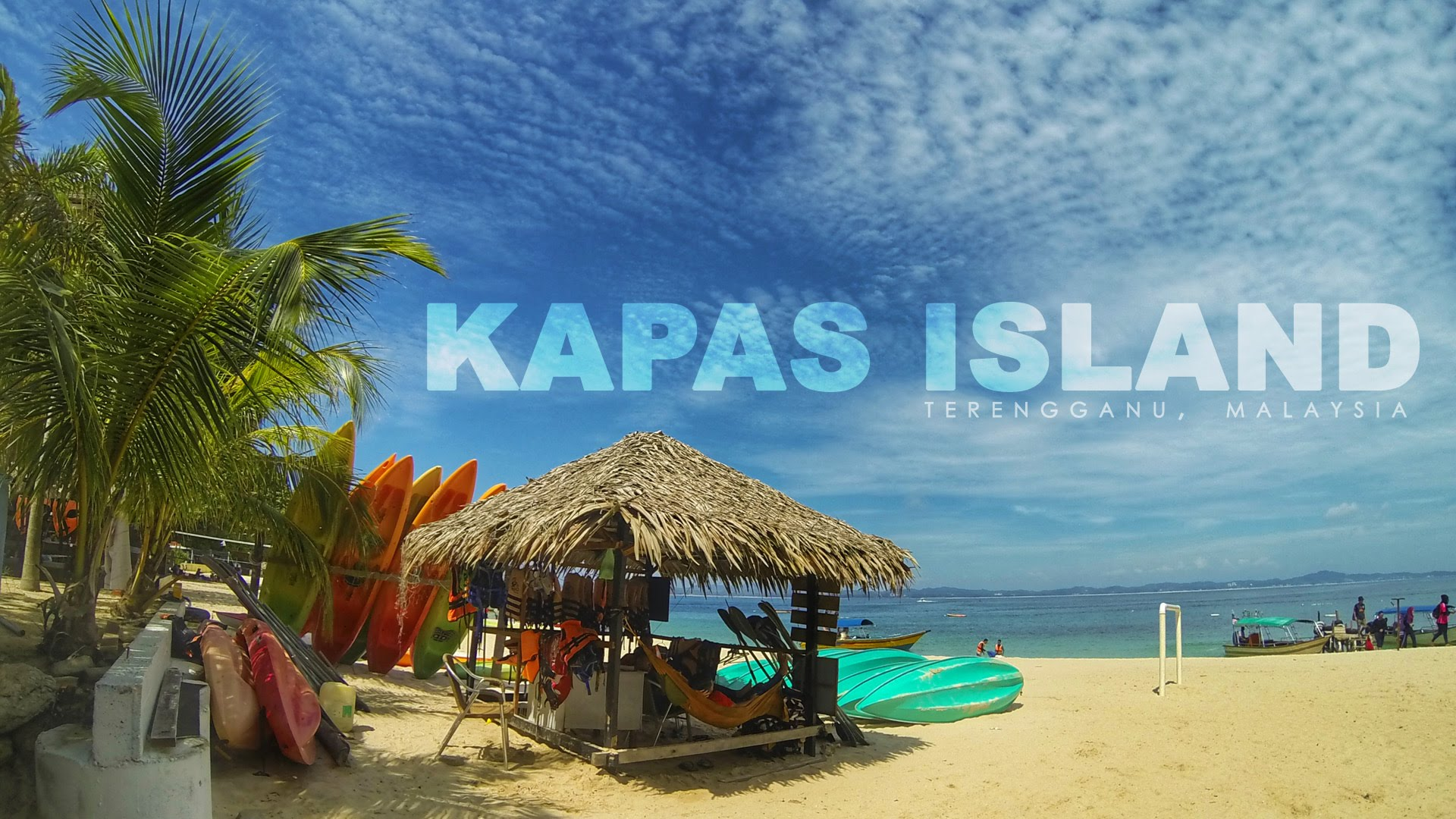 Pulau Kapas Summer Holiday Trip | 棉花岛夏日游