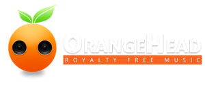 OrangeHead Logo Header