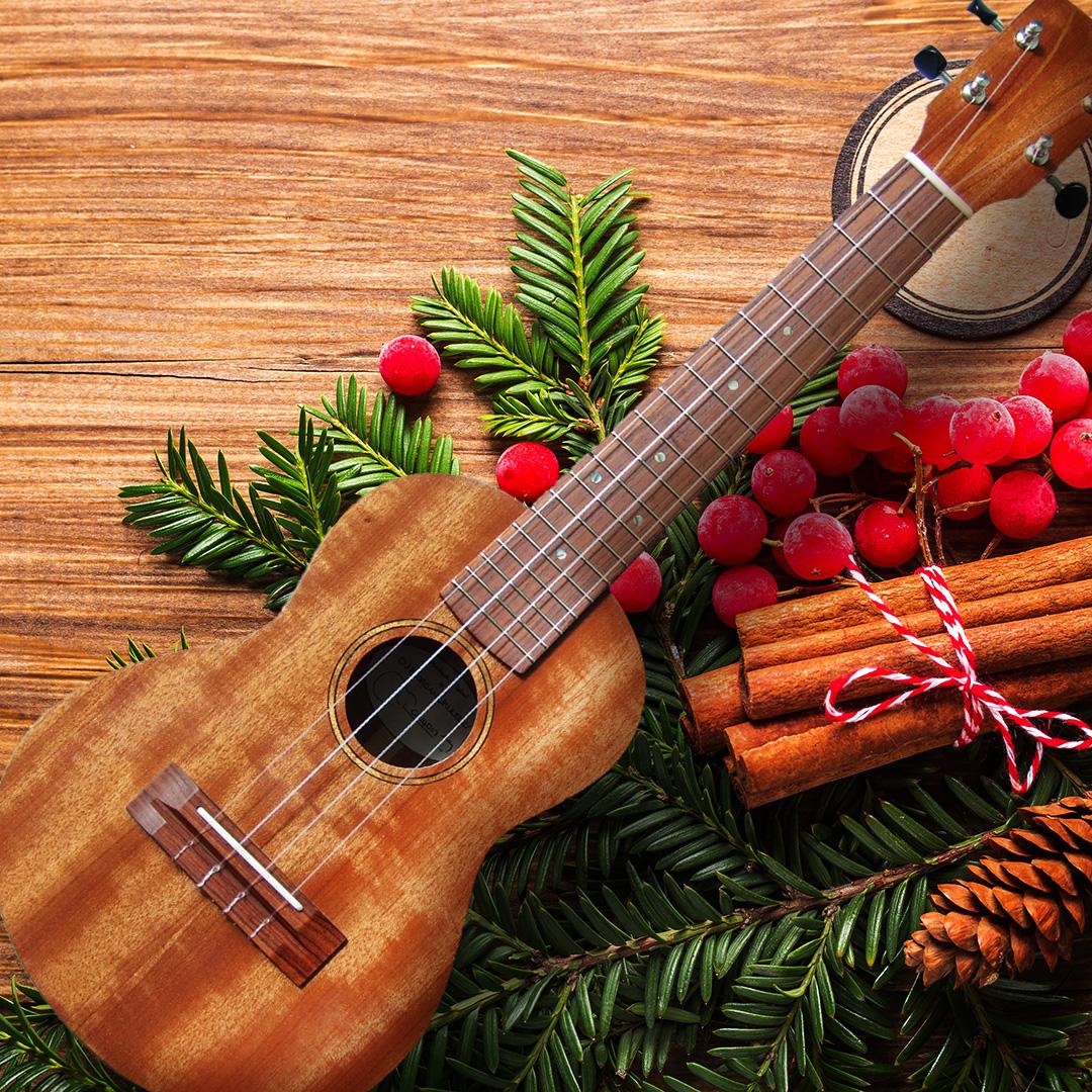 Christmas Ukulele - (Royalty Free Music | Stock Music | Background)
